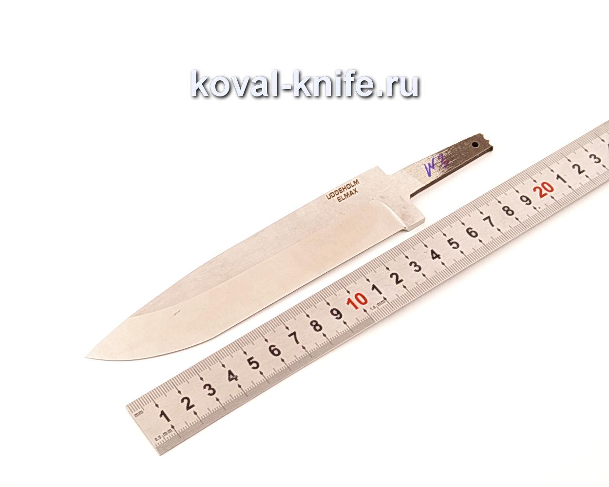 Клинок для ножа из порошковой стали Elmax N3