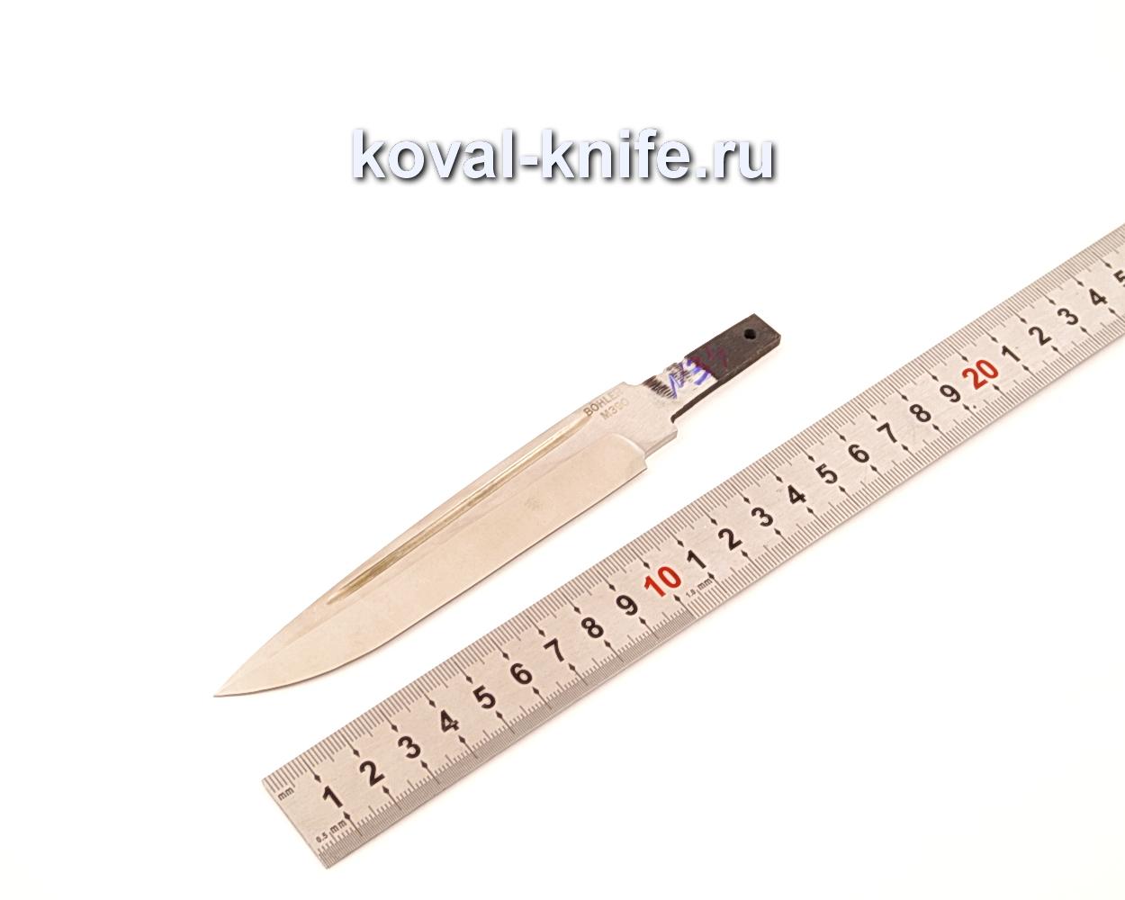 Клинок для ножа из порошковой стали Bohler M390 N34