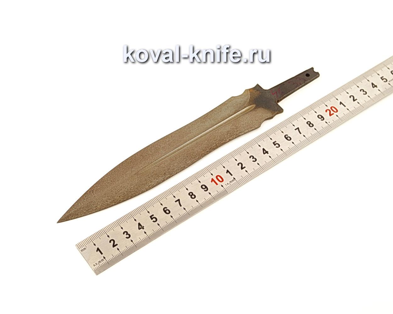 Клинок для Кинжала из булатной стали N45