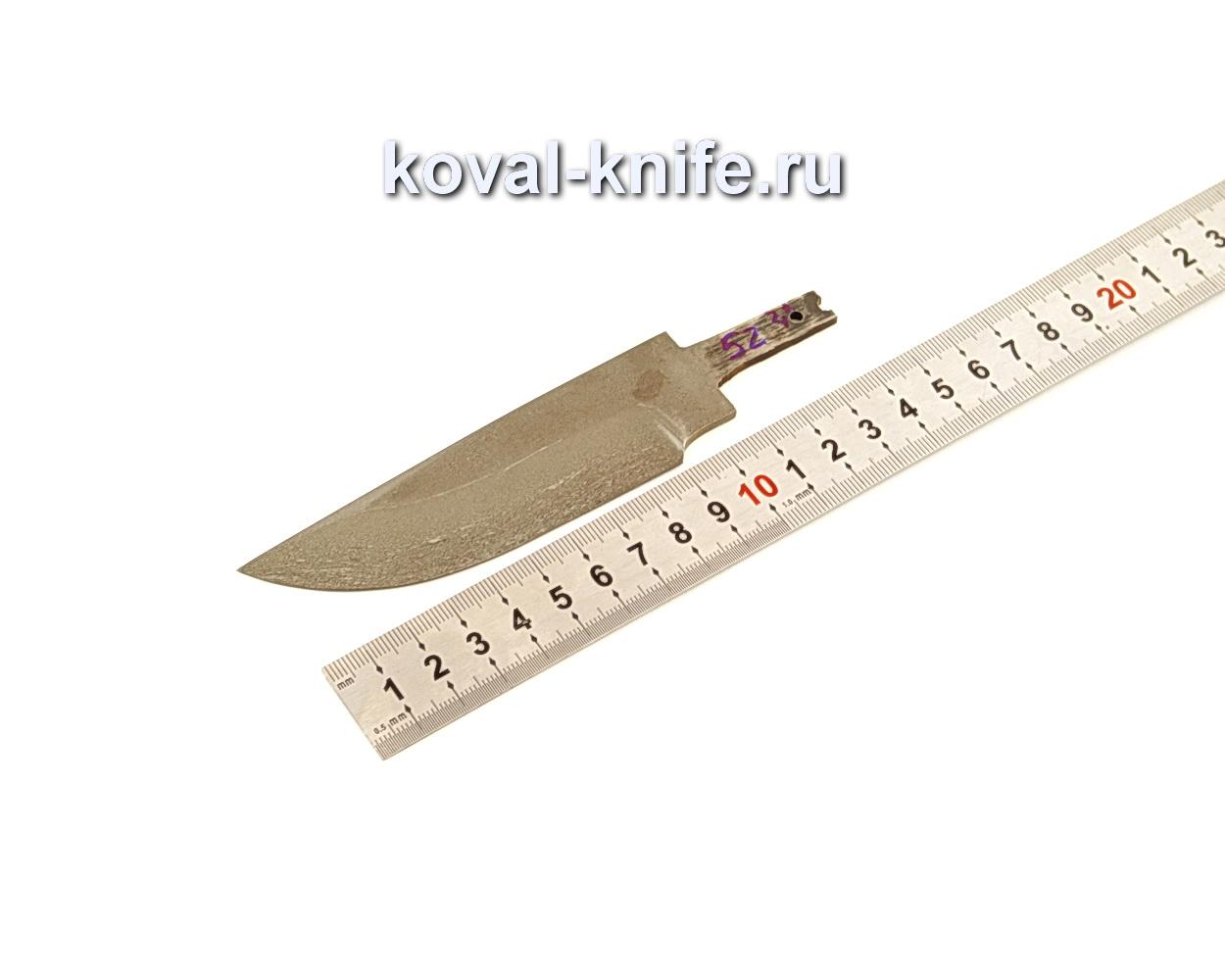 Клинок для ножа из из булатной стали N52
