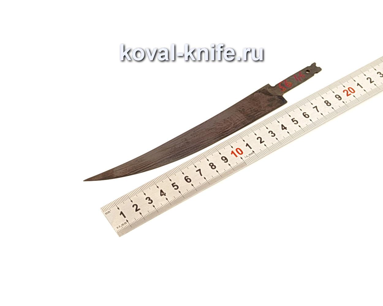 Клинок для филейного ножа из кованой стали У10А N56