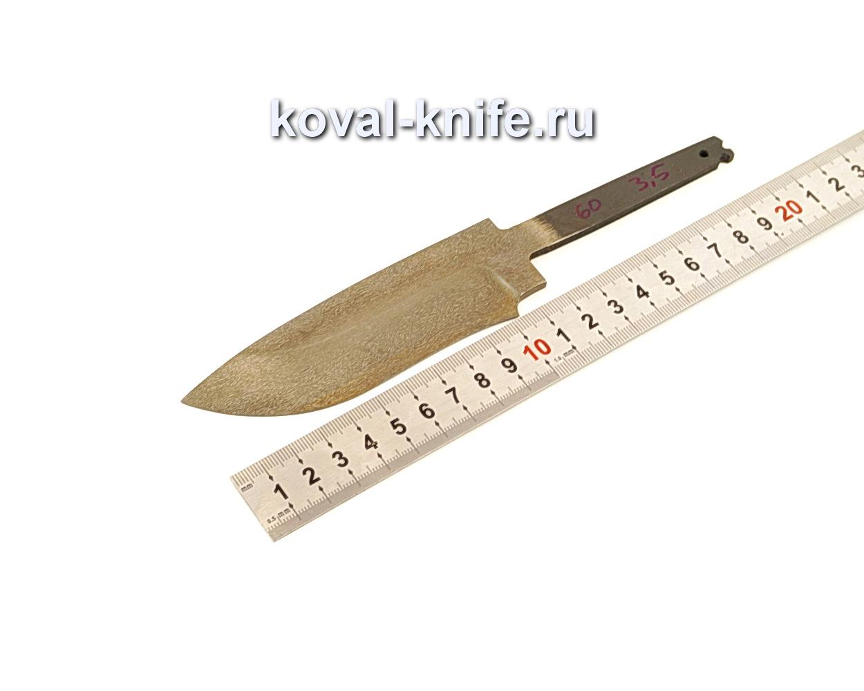 Клинок для ножа из булатной стали N60