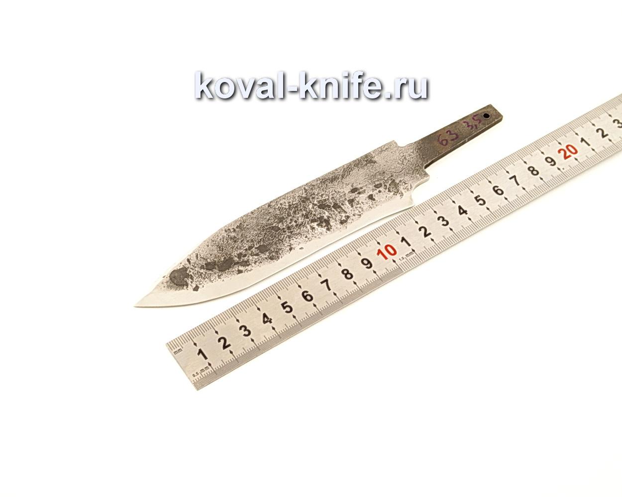 Клинок для ножа из кованой 9ХС  N63
