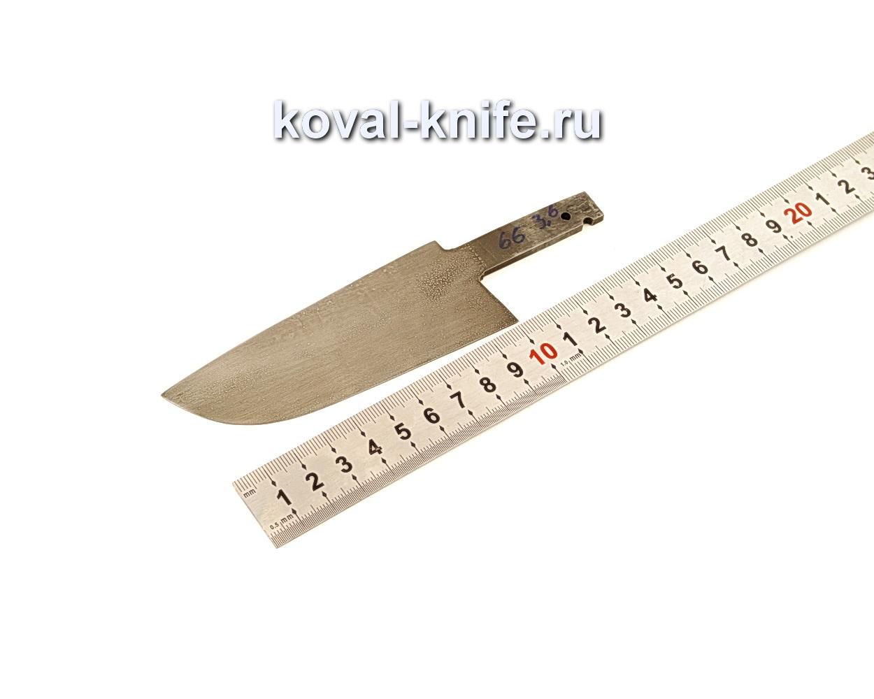 Клинок для ножа из кованой стали ХВГ N66