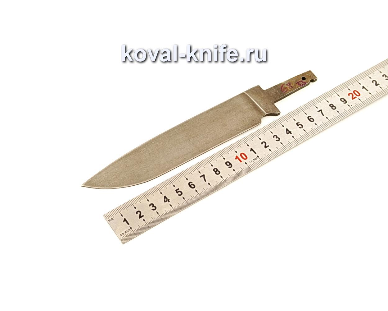 Клинок для ножа из кованой стали ХВГ N68