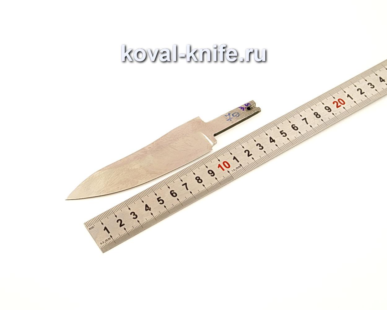 Клинок для ножа из кованой стали Х12МФ N79