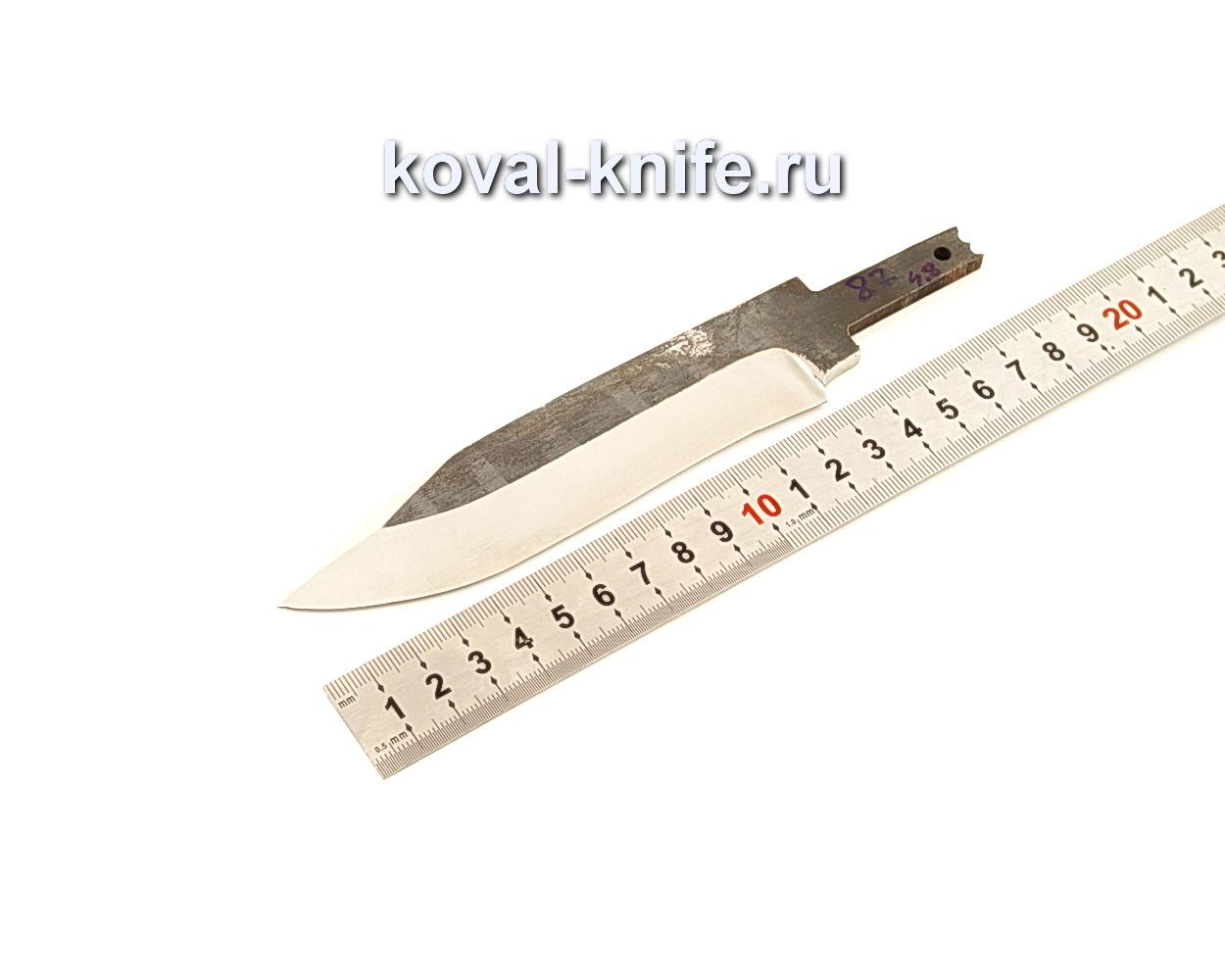 Клинок для ножа из кованой 110Х18 МШД N82