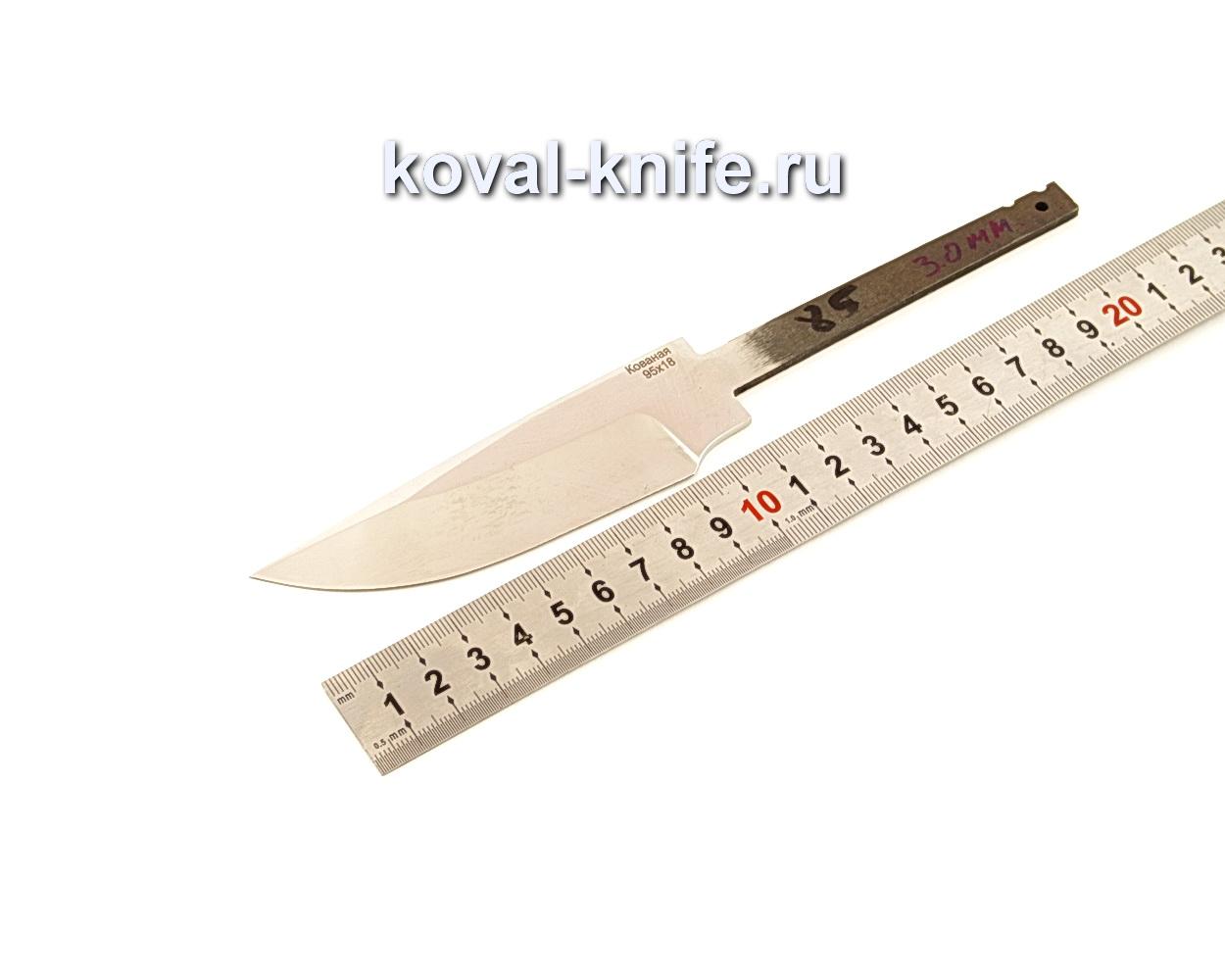 Клинок для ножа из кованой 95Х18 N85