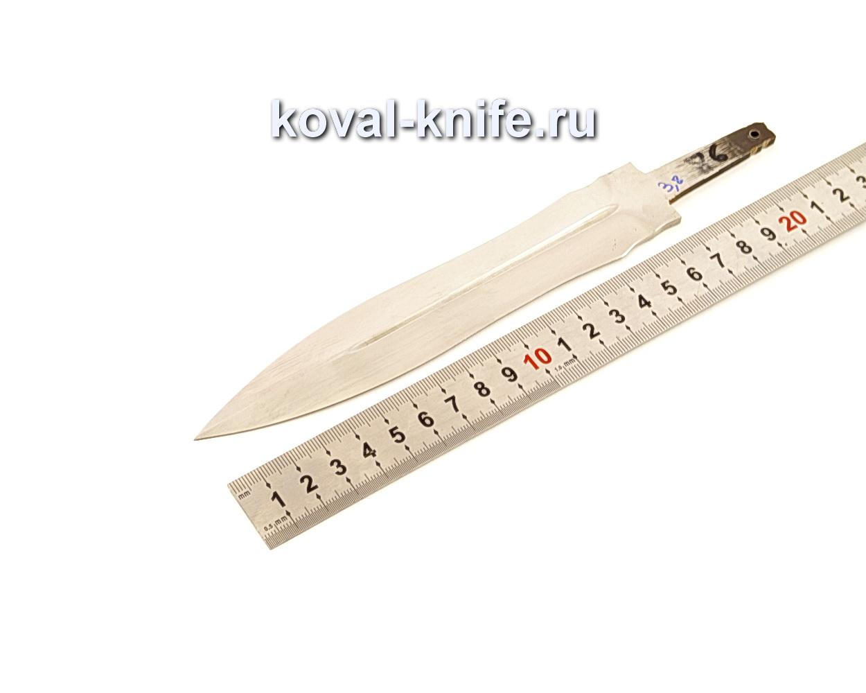 Клинок для Кинжала из кованой стали Х12МФ N86