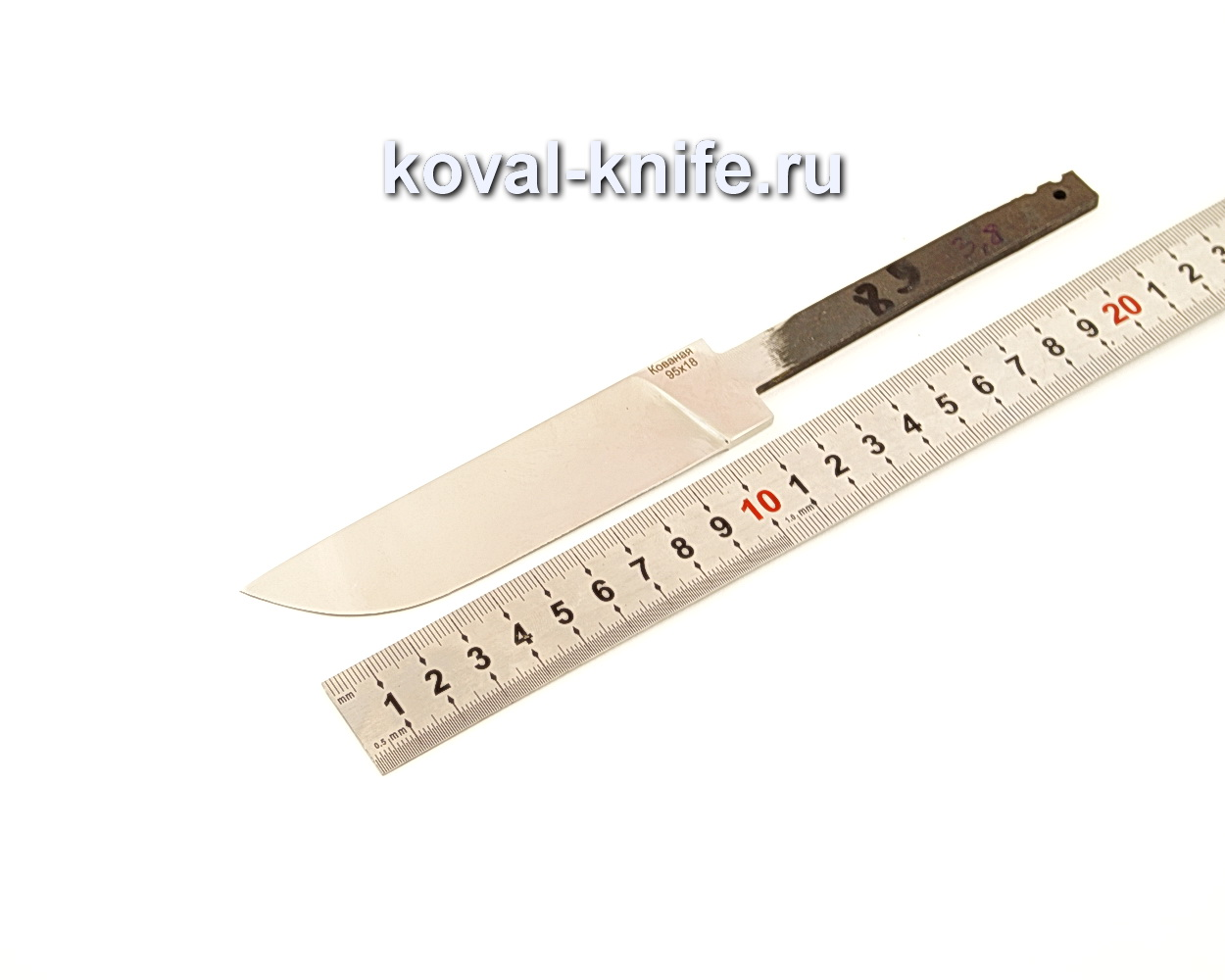 Клинок для ножа из кованой 95Х18 N89