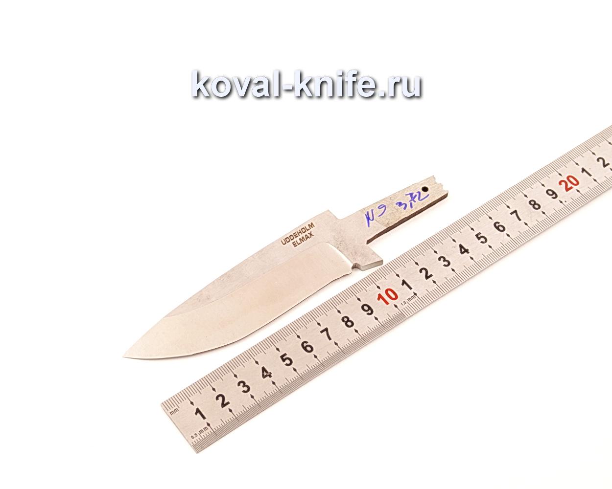 Клинок для ножа из порошковой стали Elmax N9