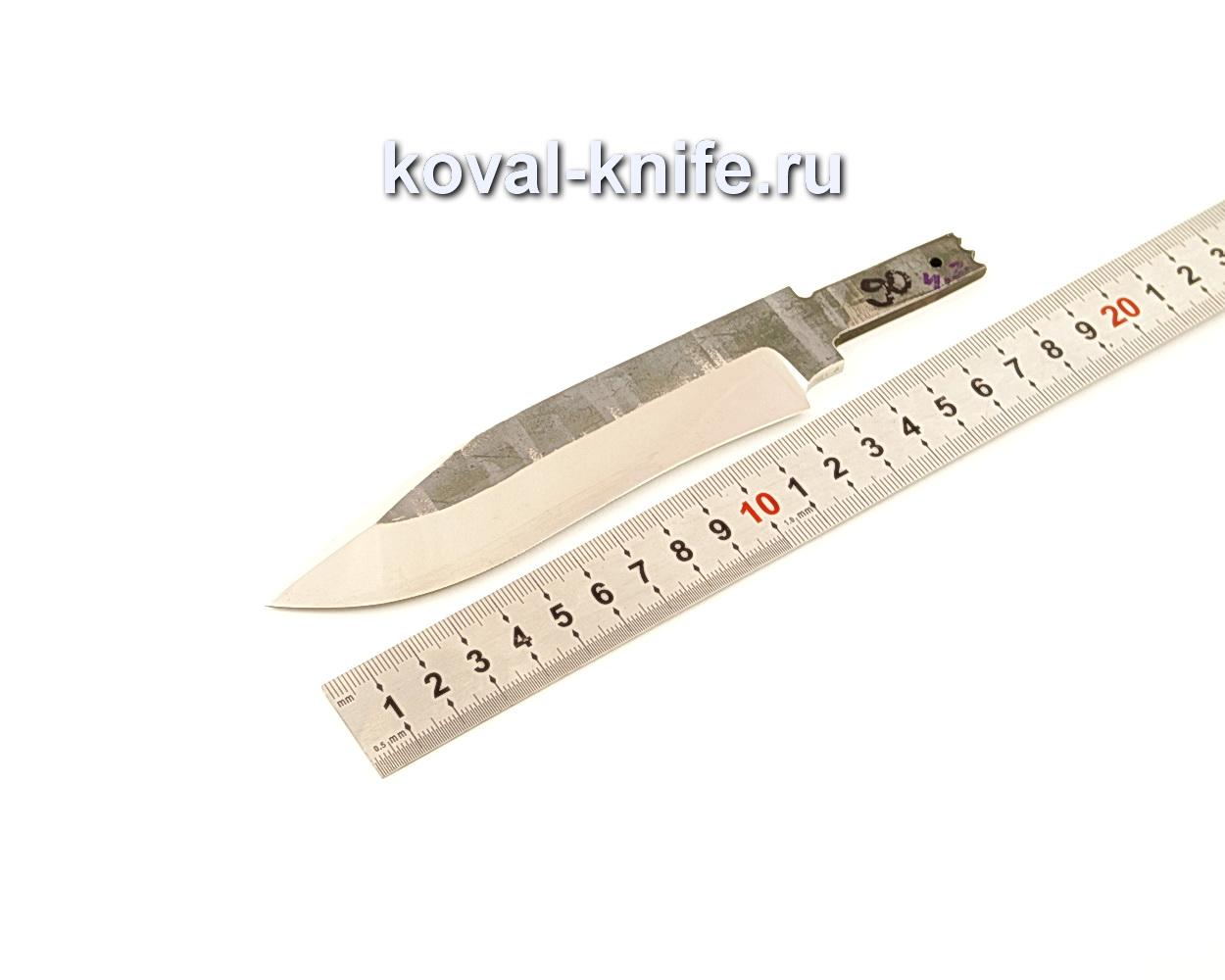 Клинок для ножа из кованой 110Х18 МШД N90
