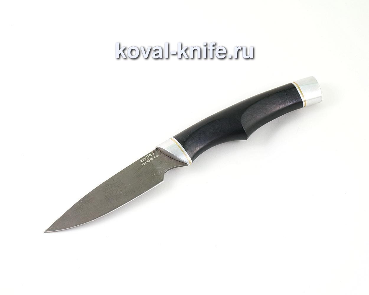 Нож из булатной стали Нырок (Легированный булат, рукоять граб) A458