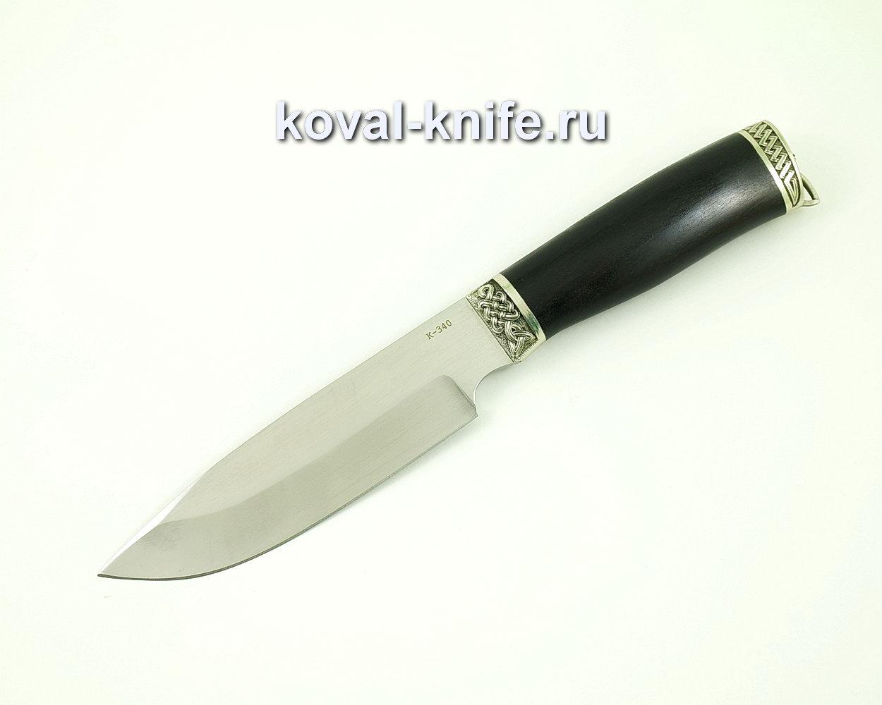 Нож Бигзод из стали K340 (Bohler K340, Рукоять граб)