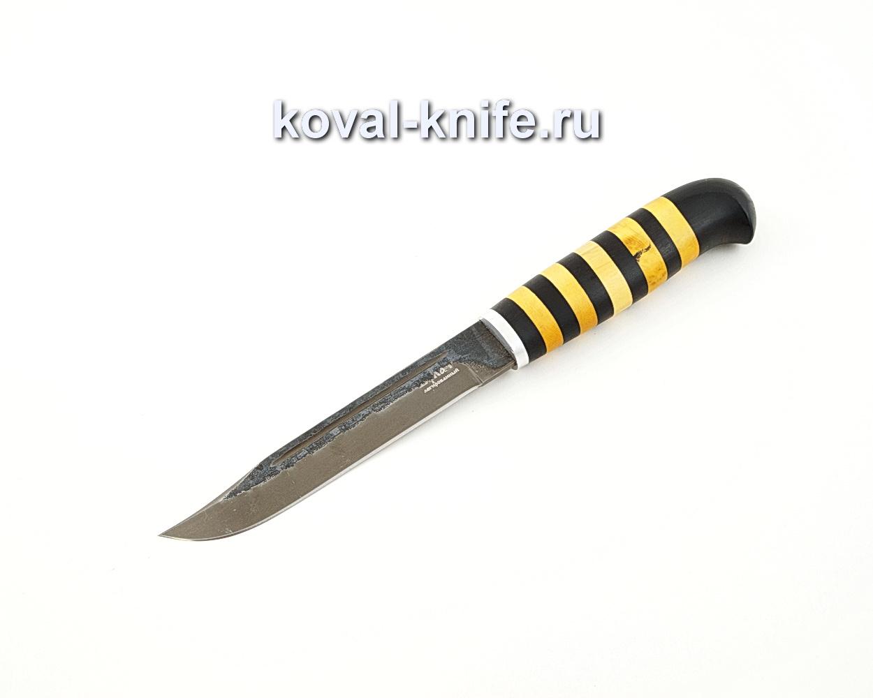 Нож Штрафбат из булатной стали с наборной рукоятью A575