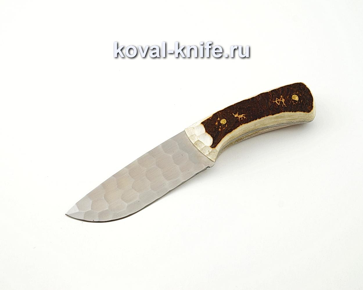 Нож Барс цельнометаллический из кованой стали Х12МФ с рукоятью из кости A589