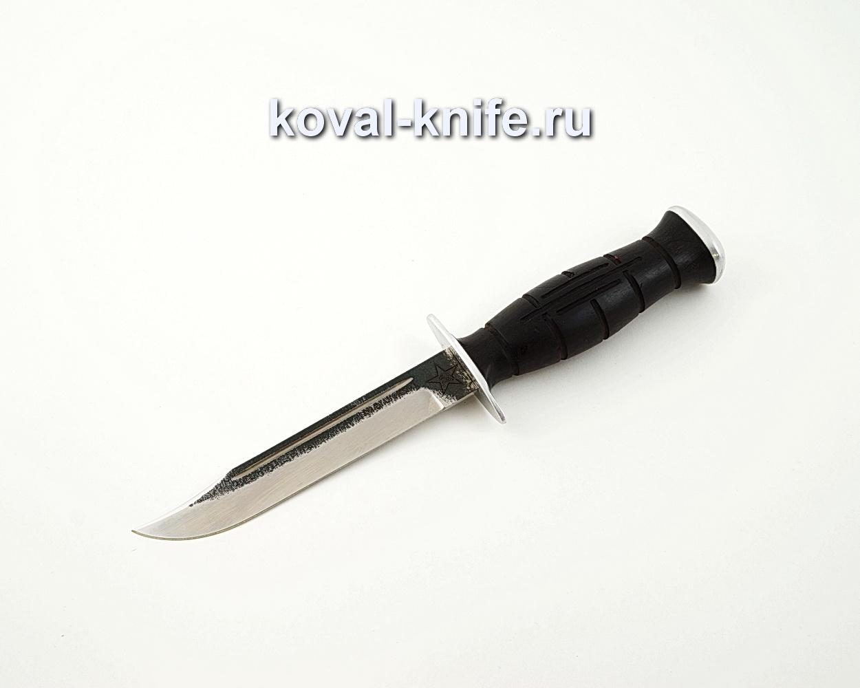 Нож Вишня из кованой стали 110Х18 с рукоятью из черного граба A595