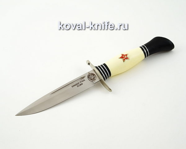 Нож Финка из кованой стали х12мф с рукоятью из пластика