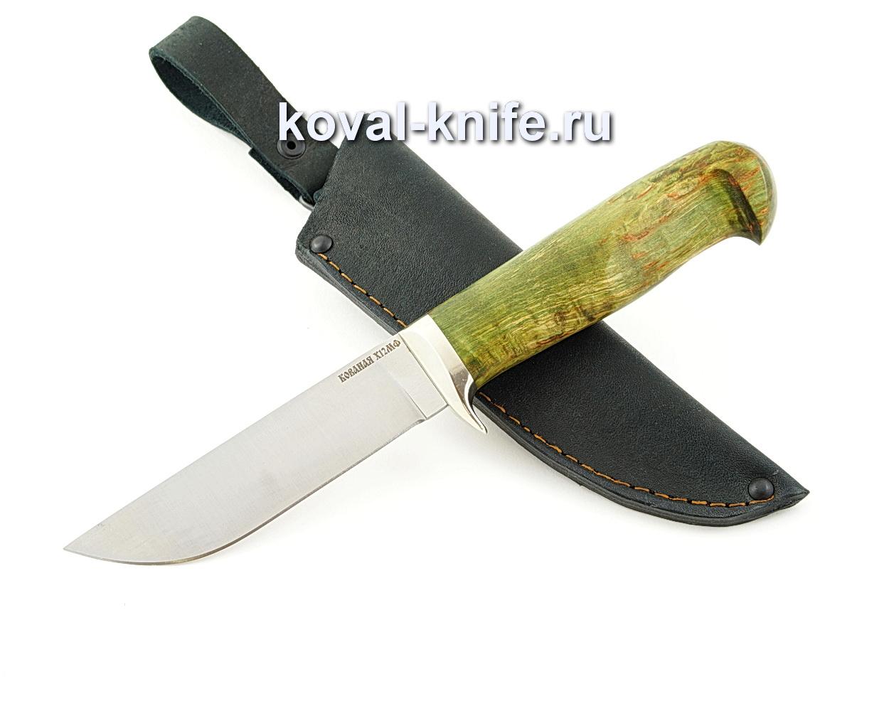 Нож Белка из кованой стали х12мф с рукоятью из карельской березы A586
