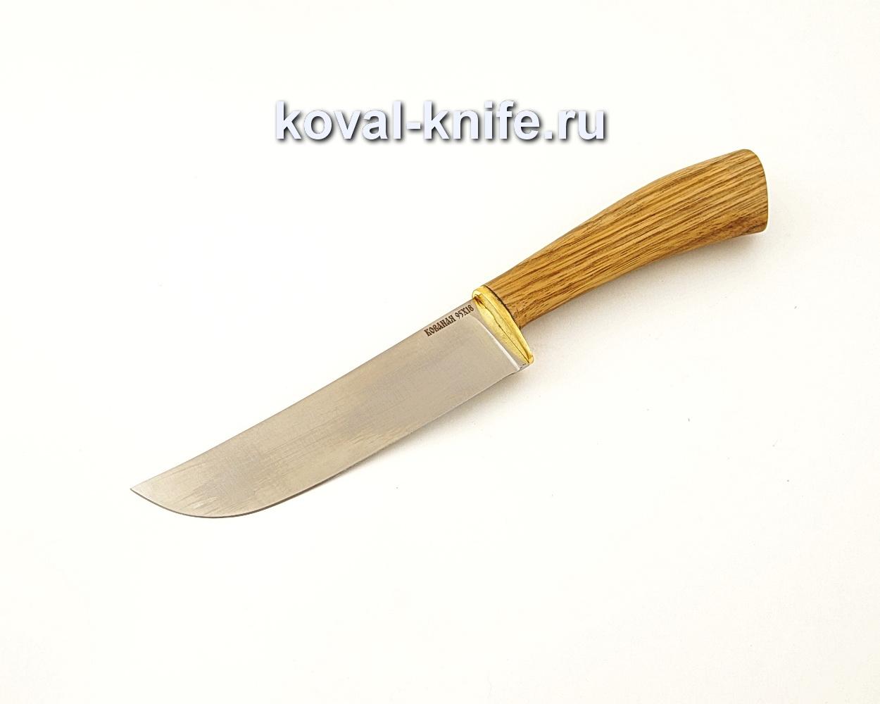 Нож Узбек — пчак из нержавеющей стали 95Х18 с рукоятью из зебрано  A638
