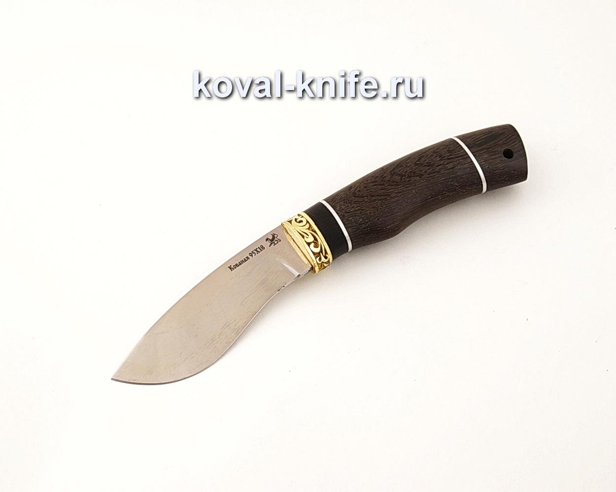 Нож Носорог из кованой стали 95Х18 с рукоятью из венге  A640
