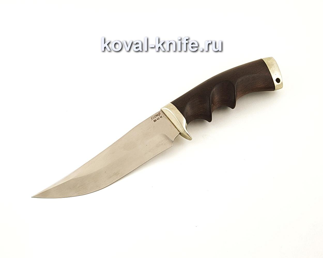 Нож Клыч из кованой стали Х12МФ с рукоятью из граба  A642