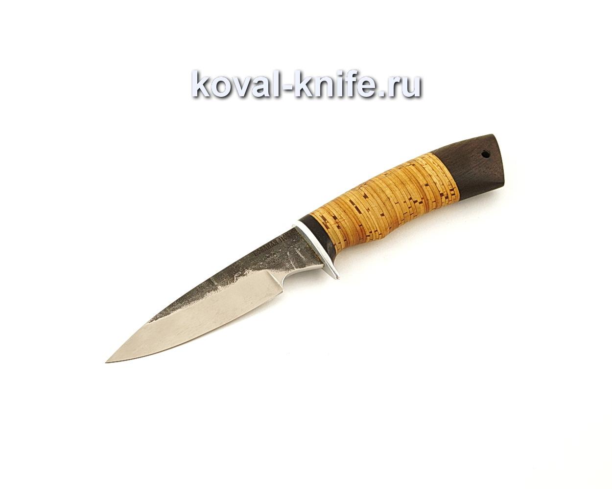 Нож Нырок из нержавеющей стали 110Х18 с рукоятью из бересты  A656