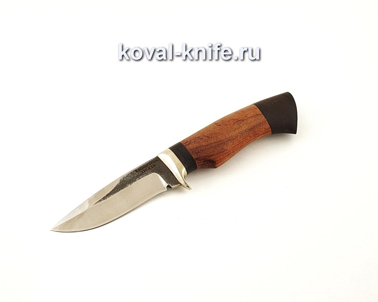 Нож Сапсан из нержавеющей стали 110Х18 с рукоятью из бубинги и граба  A657