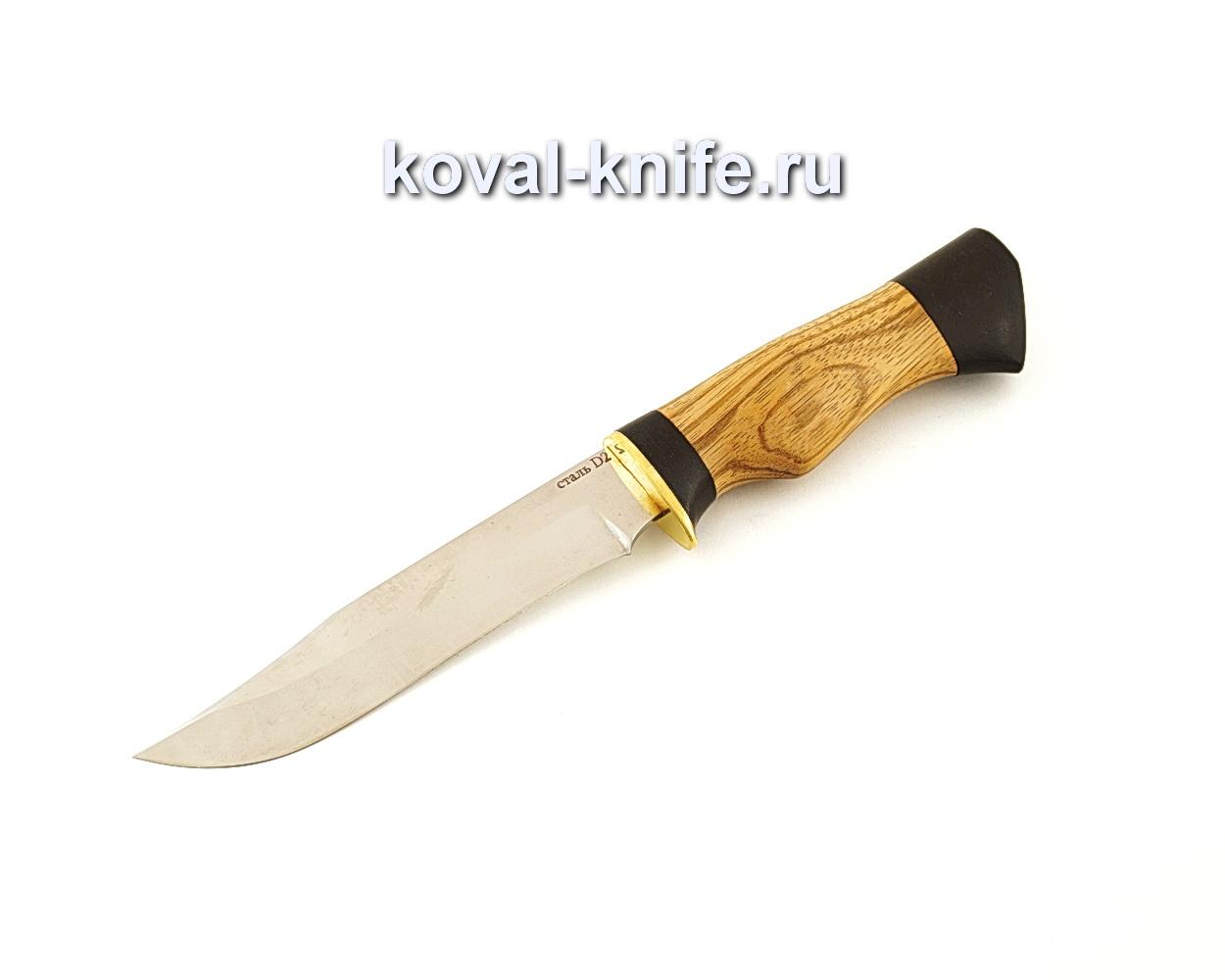 Нож Викинг из стали D2 с рукоятью из зебрано и граба  A658