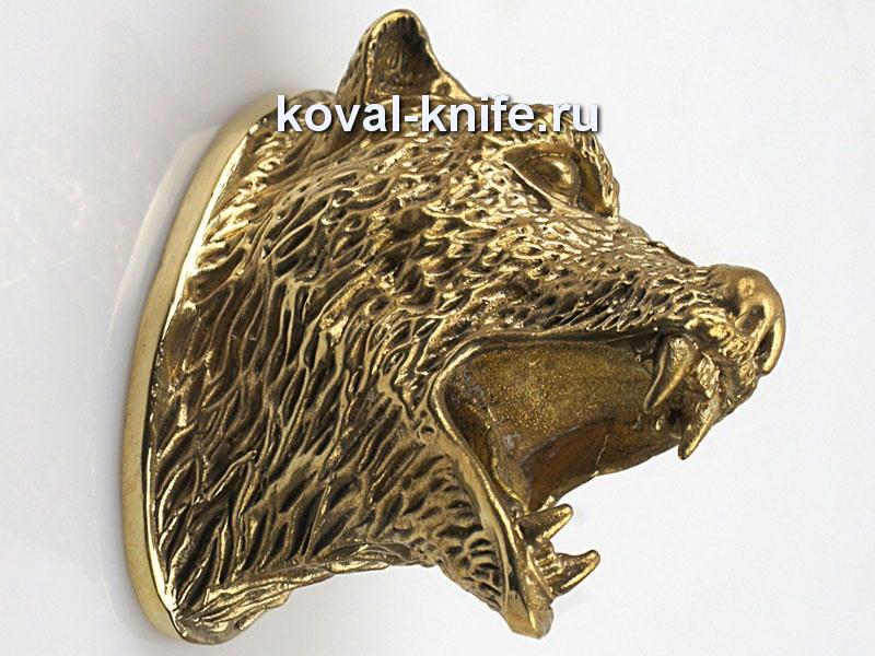 Литье для ножа 124 Медведь Высота примыкания со стороны рукояти 38мм