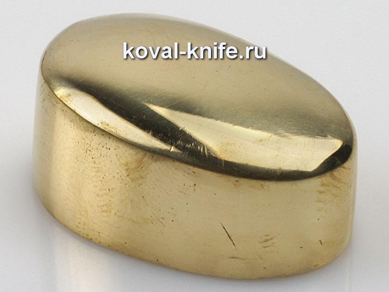 Литье для ножа 279 пятка гладкая.Высота примыкания со стороны рукояти 32мм