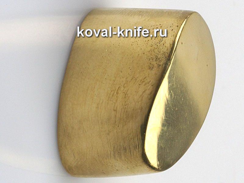 Литье для ножа 285 пятка гладкая.Высота примыкания со стороны рукояти 28мм