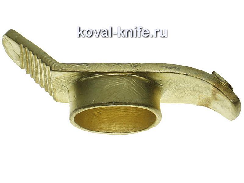 Литье для ножа 481 Гарда Финка большая.Высота овала со стороны рукояти 23мм