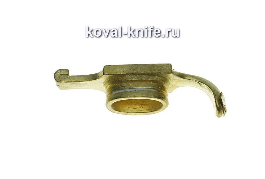 Литье для ножа 482 Гарда Финка маленькая.Высота овала со стороны рукояти 22мм