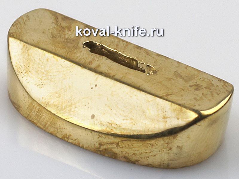 Литье для ножа 637 притин.Высота овала со стороны рукояти33,5мм