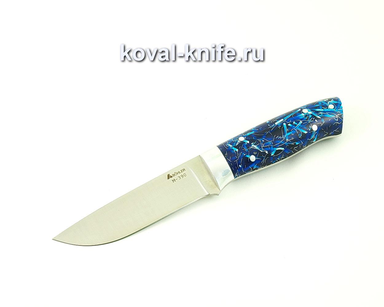 Нож цельнометаллический из порошковой стали М390 Белка (рукоять композит) A511