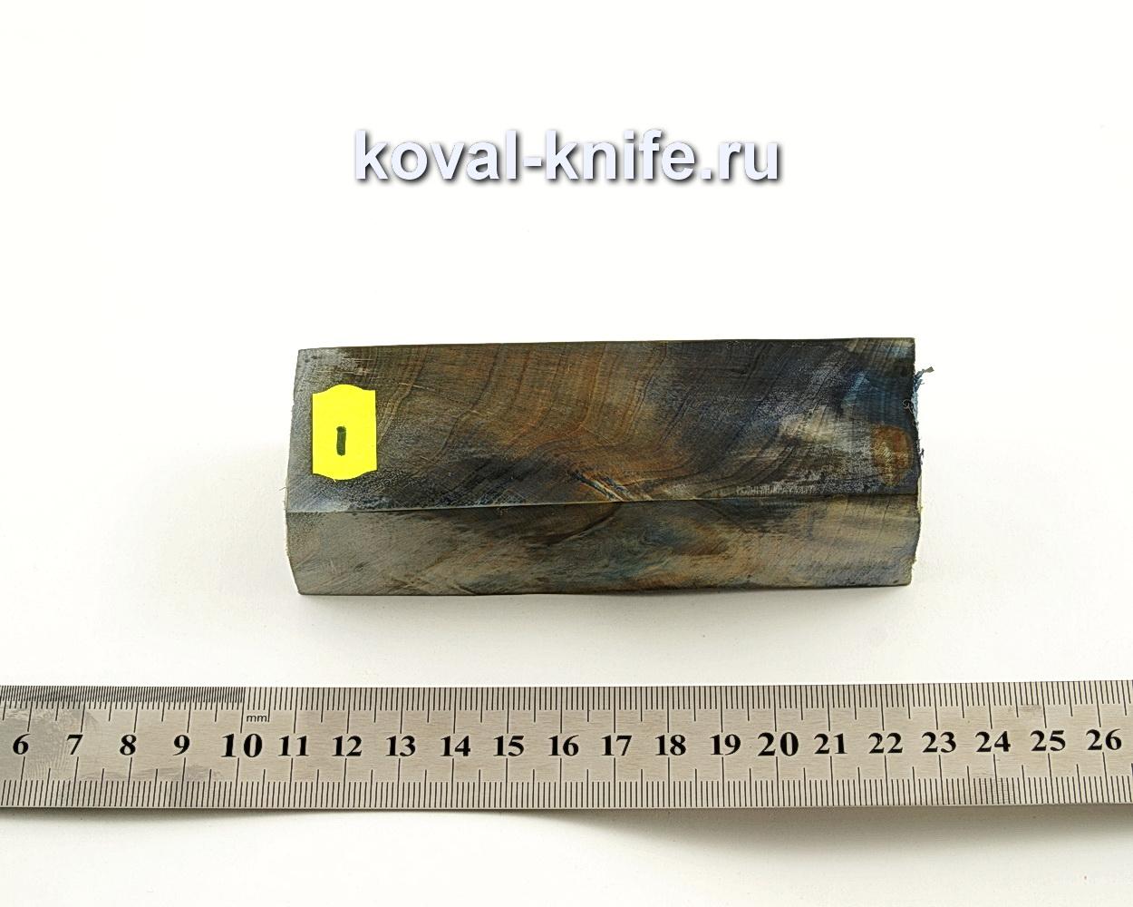 Брусок стабилизированной древесины для ножа N1