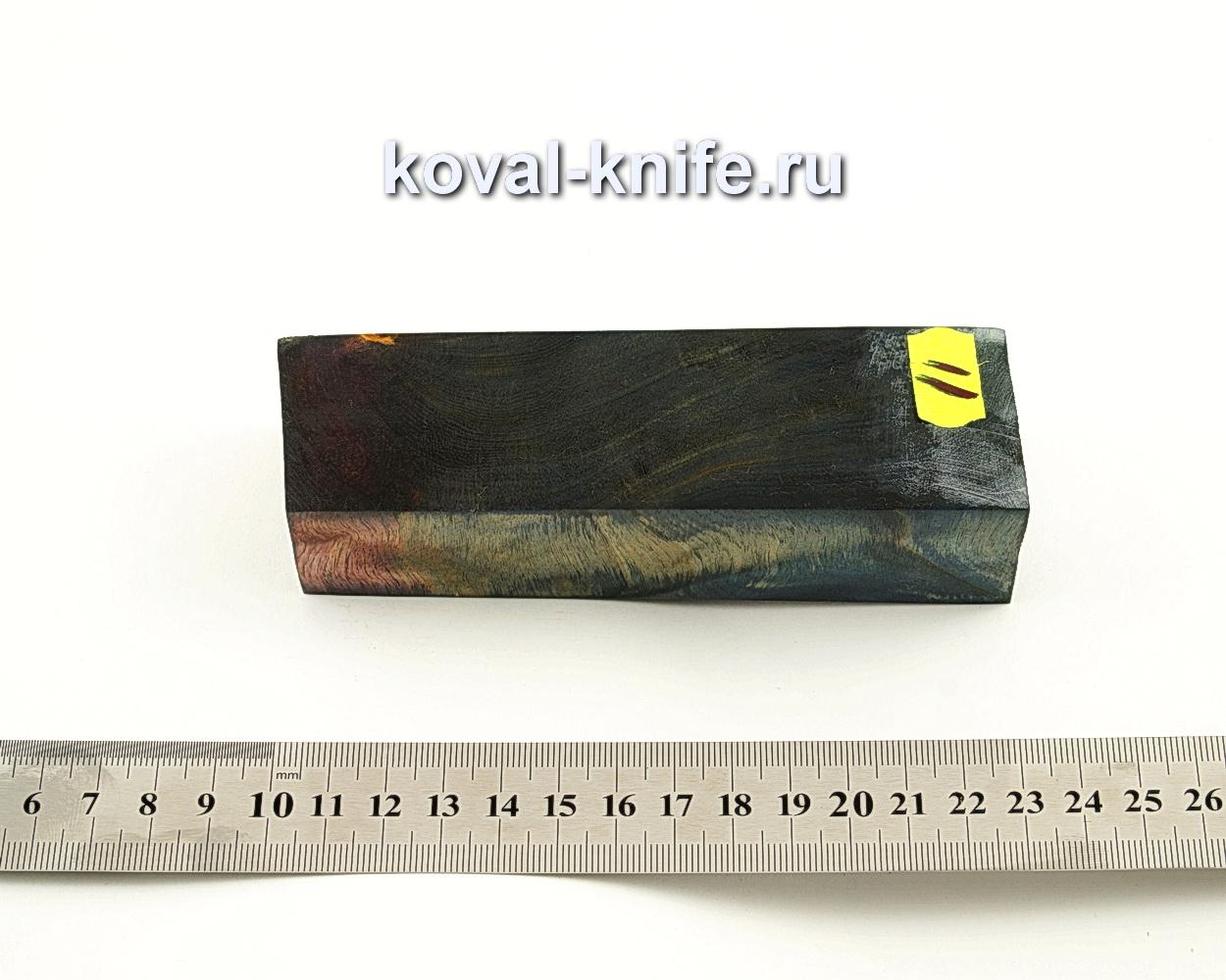 Брусок стабилизированной древесины для ножа N11