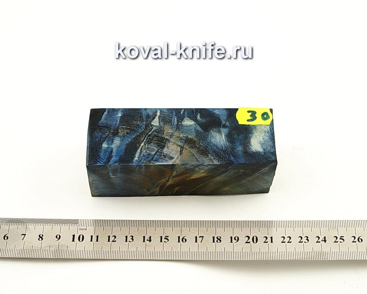 Брусок стабилизированной древесины для ножа N30