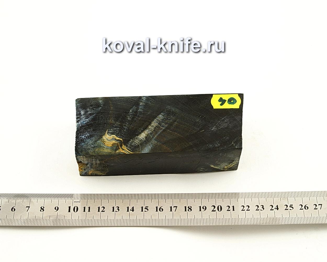 Брусок стабилизированной древесины для ножа N40