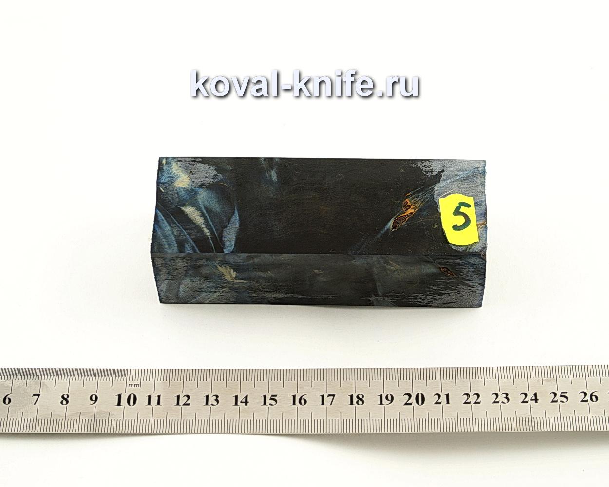 Брусок стабилизированной древесины для ножа N5