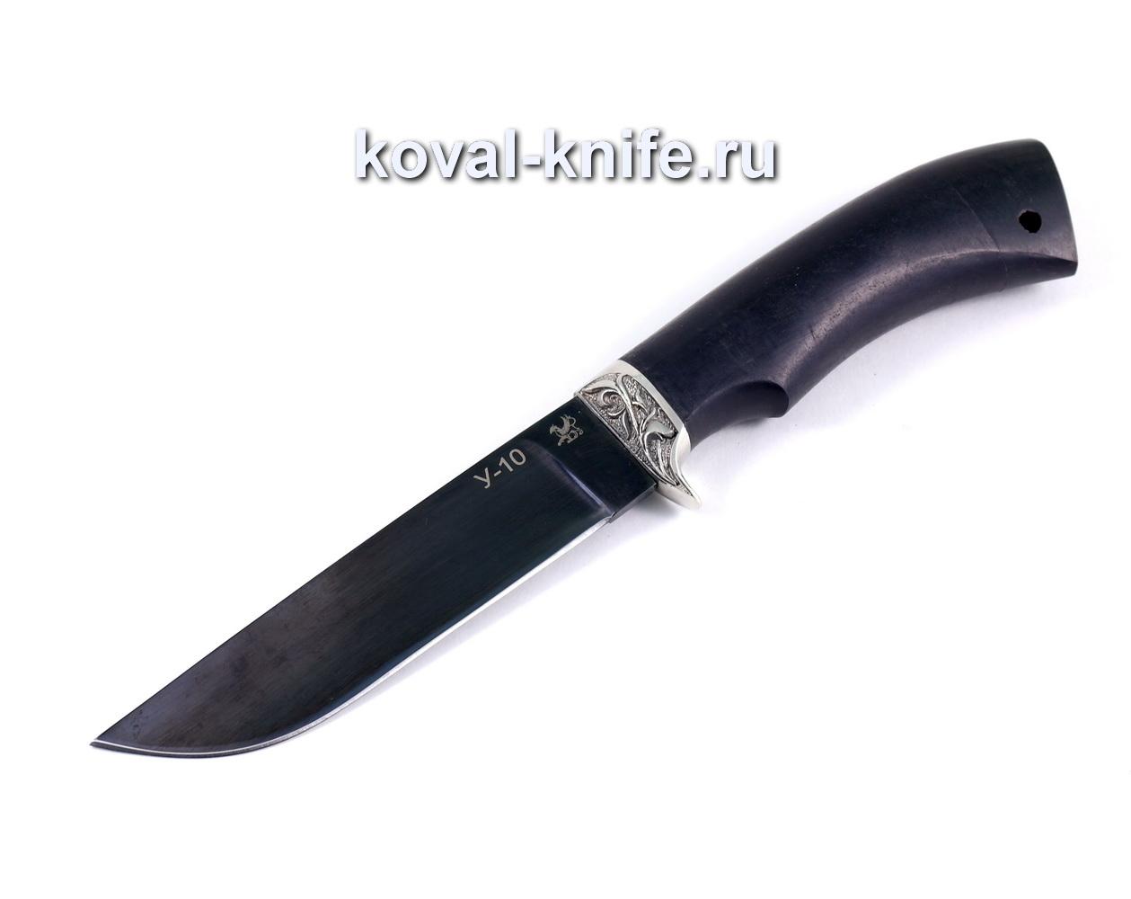 Нож Белка, сталь У10, граб A001
