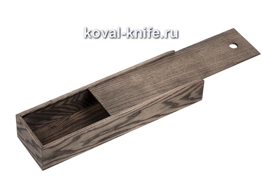 Пенал для ножа из дуба