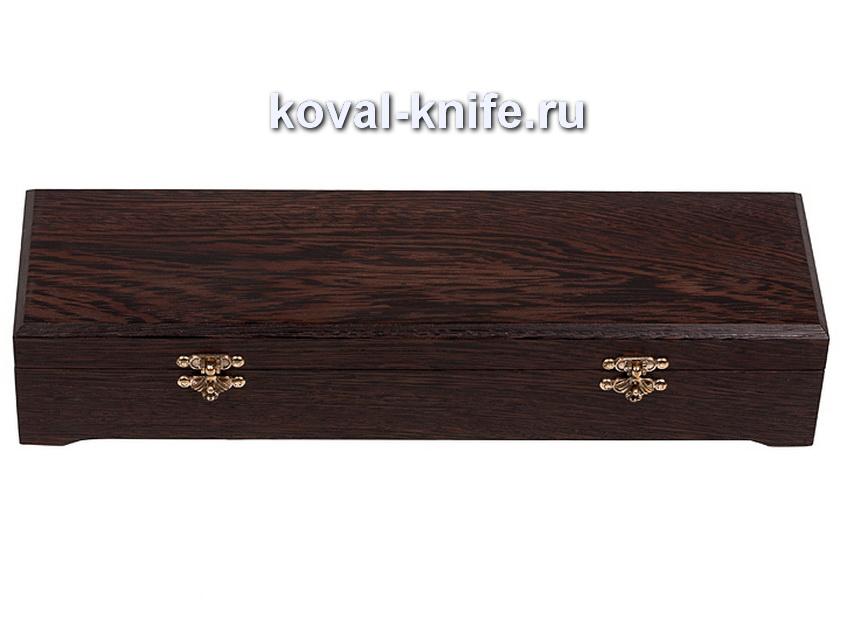 Шкатулка для ножа из венге