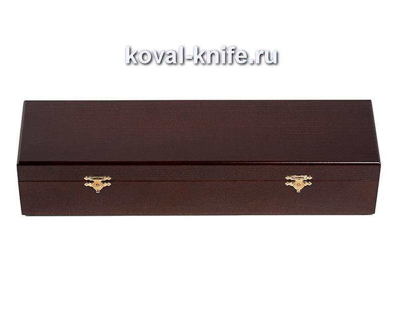 Шкатулка для ножа из бука