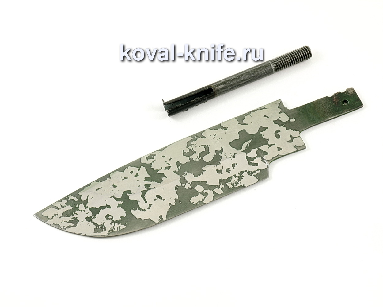 Клинок для ножа Барс (кованая сталь 95Х18, травление)