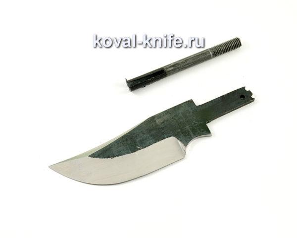 клинок для ножа Бекас из кованой стали 110х18