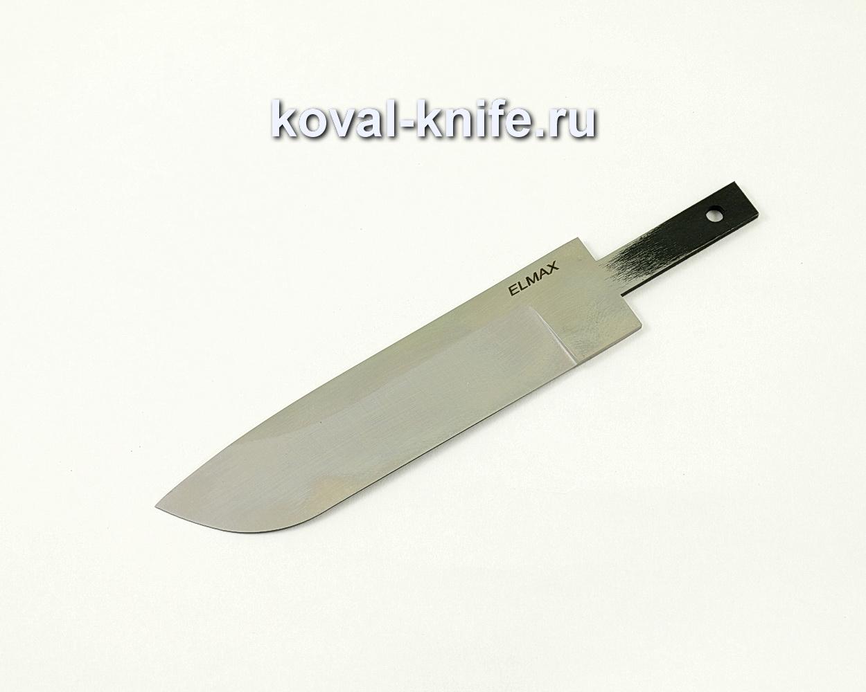 Клинок для ножа из порошковой стали Elmax Белка