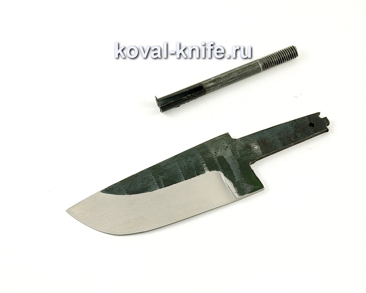 Клинок для ножа Бобр (кованая сталь 110Х18 МШД)