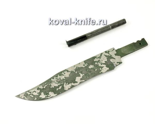 клинок для ножа Викинг из кованой стали 95х18 с травлением